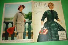 Joy 1956 Mode Italie + Voghera Giulia Buffadossi + Anna Maria Pietrangeli +