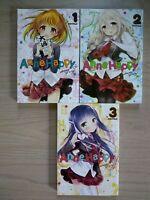 Anne Happy 1-3, Lot of 3 Seinen Manga, English, 13+, Cotoji
