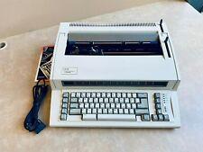 Refurbished Ibm Lexmark Wheelwriter Personal 2 Typewriter Compact Size Carriage
