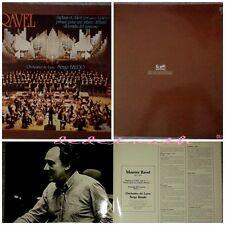 disque vinyles 33 tours RAVEL 1973 Serge Baudot orchestre de Lyon bon état