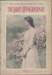 Ladies Home Journal May 1905 Magazine With Vintage Adds w/ML 090116DBE