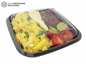 Takeaway Square Display Food Dish Meal Food Prep Salad Sushi Container/Lunch Box
