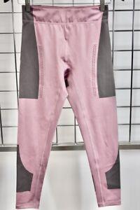 Adidas By Stella Mccartney Grey Pink Jogging Panel Leggings Size Small On Sale