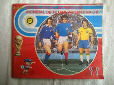 ALBUM STICKERS WORLD CUP 1978 ARGENTINA 78 100% COMPLETE NAVARRETE PERU EDITION