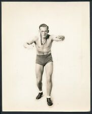 1932 PAT FINNIGAN Monacled Wrestling Star Vintage Studio Photo