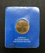 """Malaysia - (1989 ) $1  """"Commonwealth Heads of Government Meeting """" 