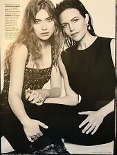 Carla Gugino, Imogen Poots 6pm INSTYLE magazine feature, clippings