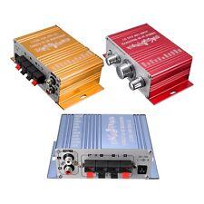 RCA 2CH Hi-Fi Stereo Amplifier Booster MP3 Speaker For Car DVD Mini Moto L8D7