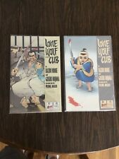 Lone Wolf and Cub 1 & 2 (1987). 1ST PRINT!  Excellent- Nm