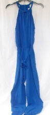 Marilyn Monroe Juniors' Belted Royal Blue Jumpsuit S NWT