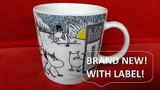 Moomin Mug Arabia SKIING WITH MR BRISK mumin becher moumine boy christmas winter