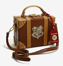 Women's Harry Potter Hogwarts Crest Trunk Handbag Bag Purse Crossbody