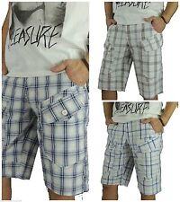 Markenlose Herren-Cargo-Shorts aus Baumwolle