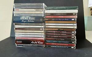 Andre Rieu CD Album Bundle 30+ Including Boxsets
