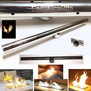 EasyFirePits Lifetime Warr 316 Stainless Gas T-Burners for Fire Pit/ Fire Tables