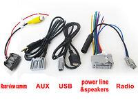 Audio Harness cable for HONDA original Head unit Stereo AUX USB Radio Camera OZ