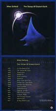 "Mike Oldfield ""The songs of distant earth"" 1994! Goldstatus in England! Neue CD!"