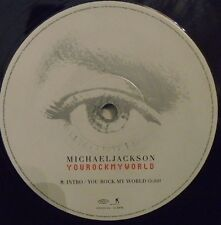 "Michael Jackson ~ YOU ROCK MY WORLD ~ 12"" SINGLE"