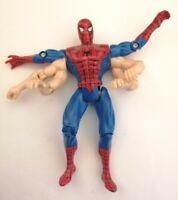 1995 Spiderman Arachnid Battle Attack Vintage Marvel Toy Biz Action Figure 6 Arm