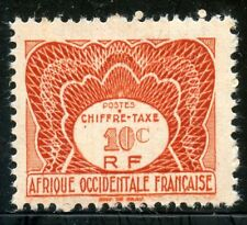 TIMBRES COLONIES FRANCAISES NEUF AFRIQUE OCCIDENTALE TAXE  N° 1 **