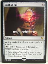 Magic Commander 2017 - 1x Staff of Nin - Rare