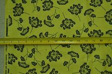 "By-the-1/2-Yard, 44"", Black on Yellow Quilter's Cotton, Robert Kaufman, M6859"