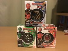 Brand New Kamen Rider Wizard Ring Lot Of 3 Driver On, Hurricane, And Garuda