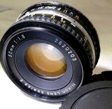 Nikon 50mm f1.8 Ai-s Manual Focus Lens adapted to Canon EF mount T7i T80 cameras
