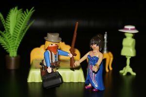 Playmobil® Western 'Besuch im Bordell' :-) ACW Cowboy Bandit Sammlung #104