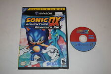 Sonic Adventure DX Director's Cut Nintendo GameCube Game Disc w/ Case