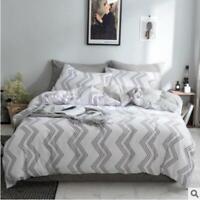 3D Simplicity Black White Texture KEP3155 Bed Pillowcases Quilt Duvet Cover Kay