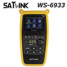 Satlink WS-6933 DVB-S2 FTA C&KU Band Digital Satellite Signal Finder Meter