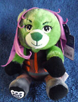 *1908* Build-A-Bear - Gamora - Marvel Guardians Of The Galaxy - plush - tag 15cm