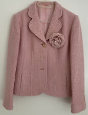 Hobbs pink jacket With Flower Side 12