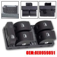 Driver Side Audi A4 8EC, B7 Seat Electric Master Window Control Switch-8E0959851