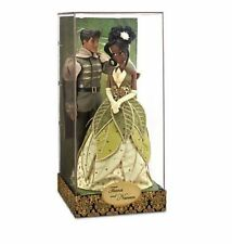 Disney Authentic Princess & the Frog Tiana Naveen Limited Edition Designer Dolls