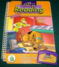 "LeapFrog LeapPad Reading ""Scooby-Doo & the Disappearing Donuts"" Book & Cartridge"