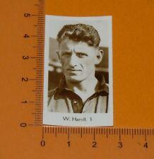 DE BEUKELAER CARD 1932 FOOTBALL WOLVERHAMPTON WANDERERS WOLVES W. HARTILL