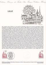 Document Philatélique Timbre 1er Jour : 16/10/ 1982 - Lille