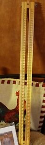 """Knitting Loom/Board 28"""" with instructional DVD"""