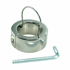Ball Stretcher Weight Steel Ball Stretching Weights Enhancer Penis Chastity Ring