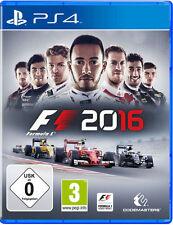 Sony PS4 Playstation 4 Spiel * F1 2016 Formel 1 16 Formula uno one ******NEU*NEW
