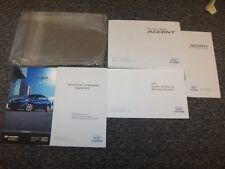 2014 Hyundai Accent Owner Owner's Operator User Guide Manual Set GLS GS SE 1.6L