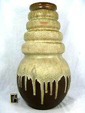 """70´s design Scheurich  """" Lava """" Keramik pottery floor vase """"Wien""""  269 - 53"""