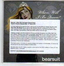 (BT220) Bearsuit, When Will I Be Queen - DJ CD