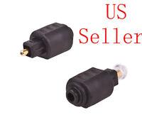 Optical 3.5mm Female Mini Jack Plug To Digital Toslink M Audio Adapter Lot