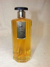 VTG. Eau ARPEGE de LANVIN Perfume 4 Oz OCTAGONAL Ribbed ART DECO Glass Bottle