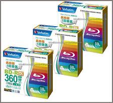 30 Disque dur Verbatim Bluray 50GB 4x Double Couche Dvd Imprimable Blu-ray Disc