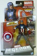 "ULTIMATE CAPTAIN AMERICA Marvel Universe Legends 6"" inch Figure Wave 4 2013"