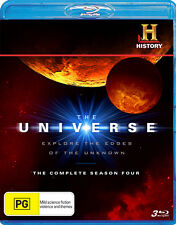 THE UNIVERSE - SEASON 4, THE COMPLETE (3 BLU-RAY DISC SET) NEW!!! SEALED!!!